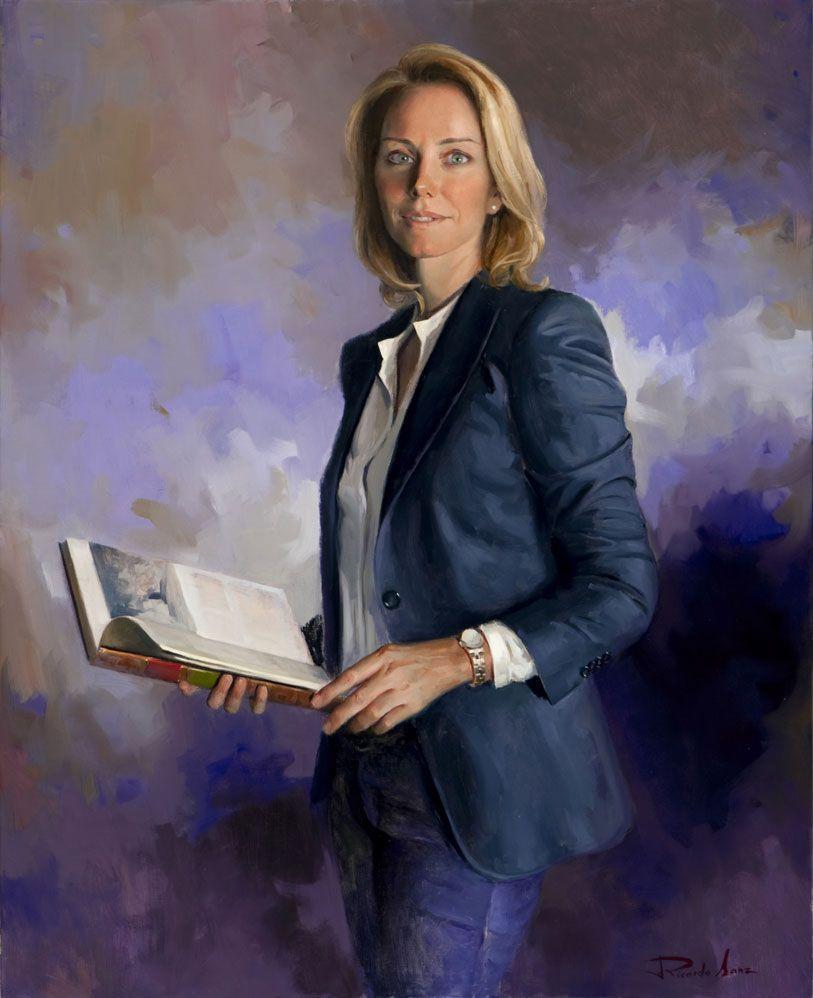 Ricardo-Sanz-Retrato-de-Arantxa-Quiroga-Presidenta-del-Parlamento-Vasco-100X81-cms